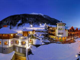 Alpin Wellness Hotel Kristiania - esterno inverno