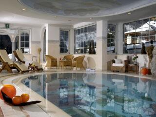 piscina coperta panoramica - centro benessere Acquaviva, Trentino