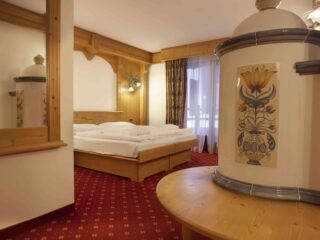 Kristiania Junior Suite Dolomite stufa