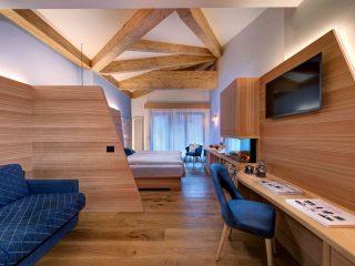 Kristiania Junior Suite Quarzo - camera con caminetto