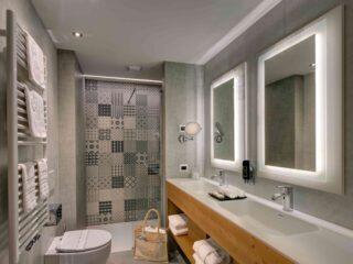 Kristiania Junior Suite Quarzo 304 bagno