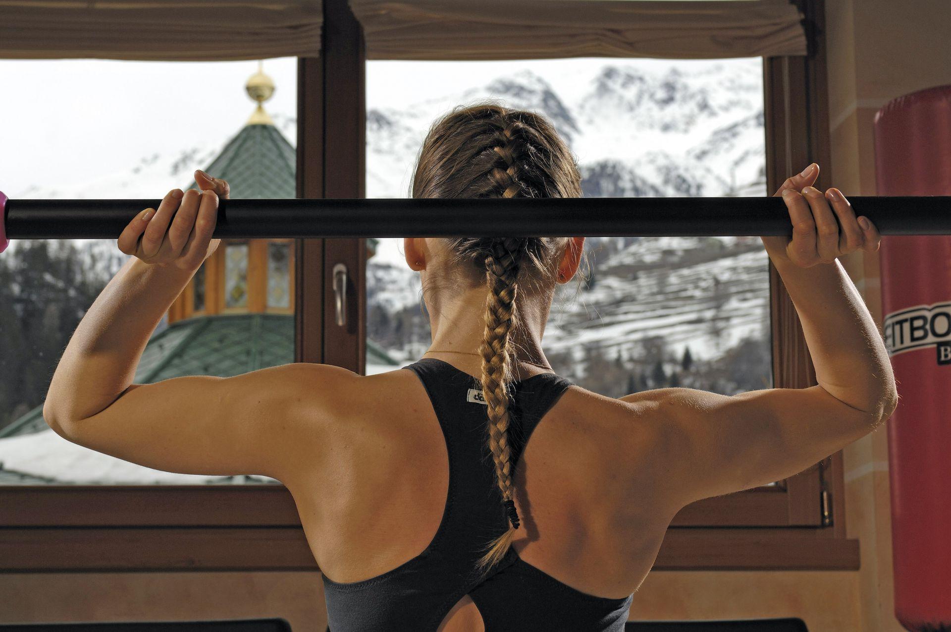 Immagine di testata per I vantaggi di un hotel con palestra in Val di Sole