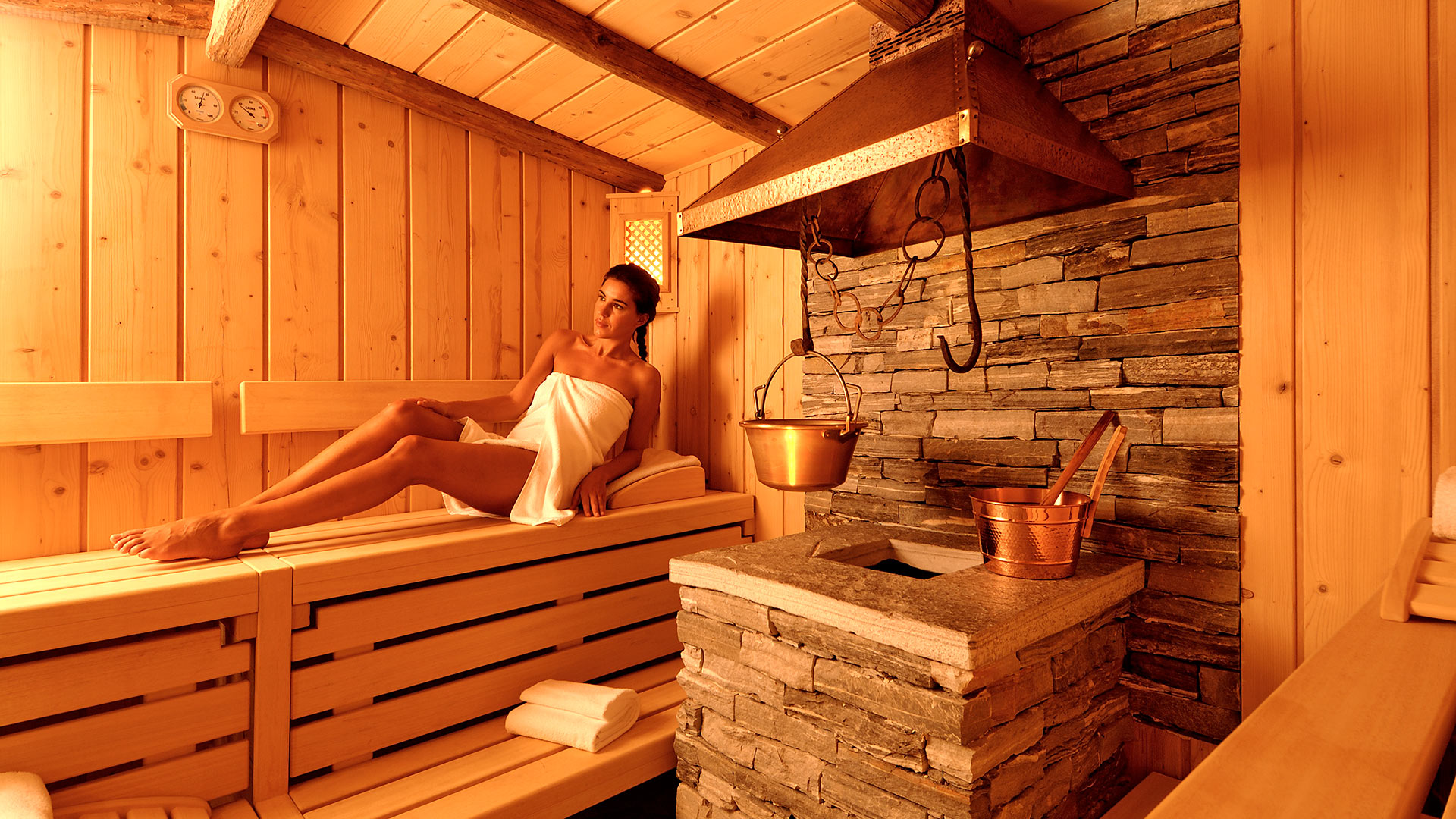 Immagine di testata per Paradiso wellness al Leading Nature & Wellness Resort Kristiania in Val di Pejo