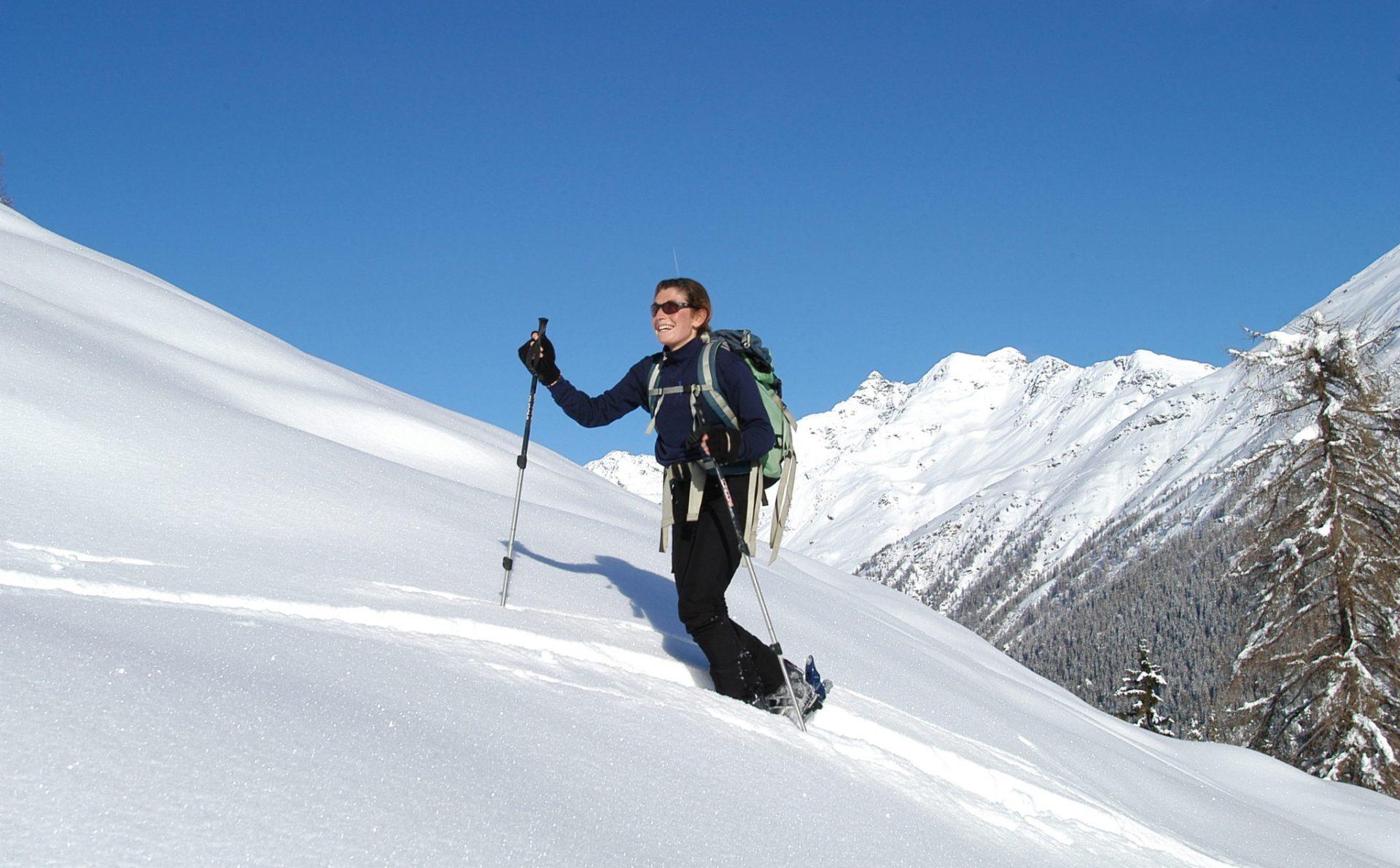 Immagine di testata per Escursioni con le ciaspole in Val di Sole, Trentino