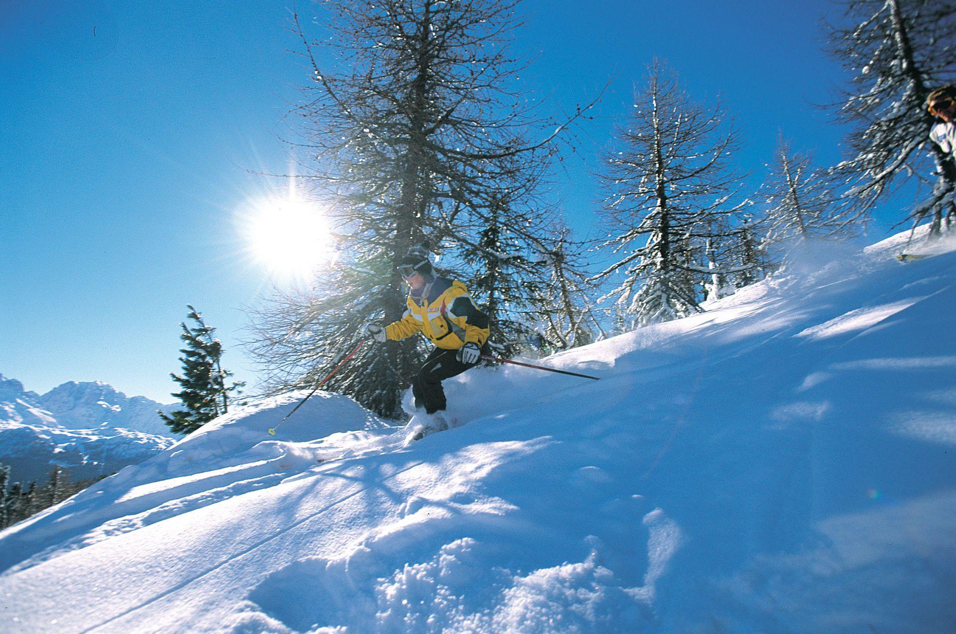 Immagine di testata per Vacanze sugli sci in Val di Pejo