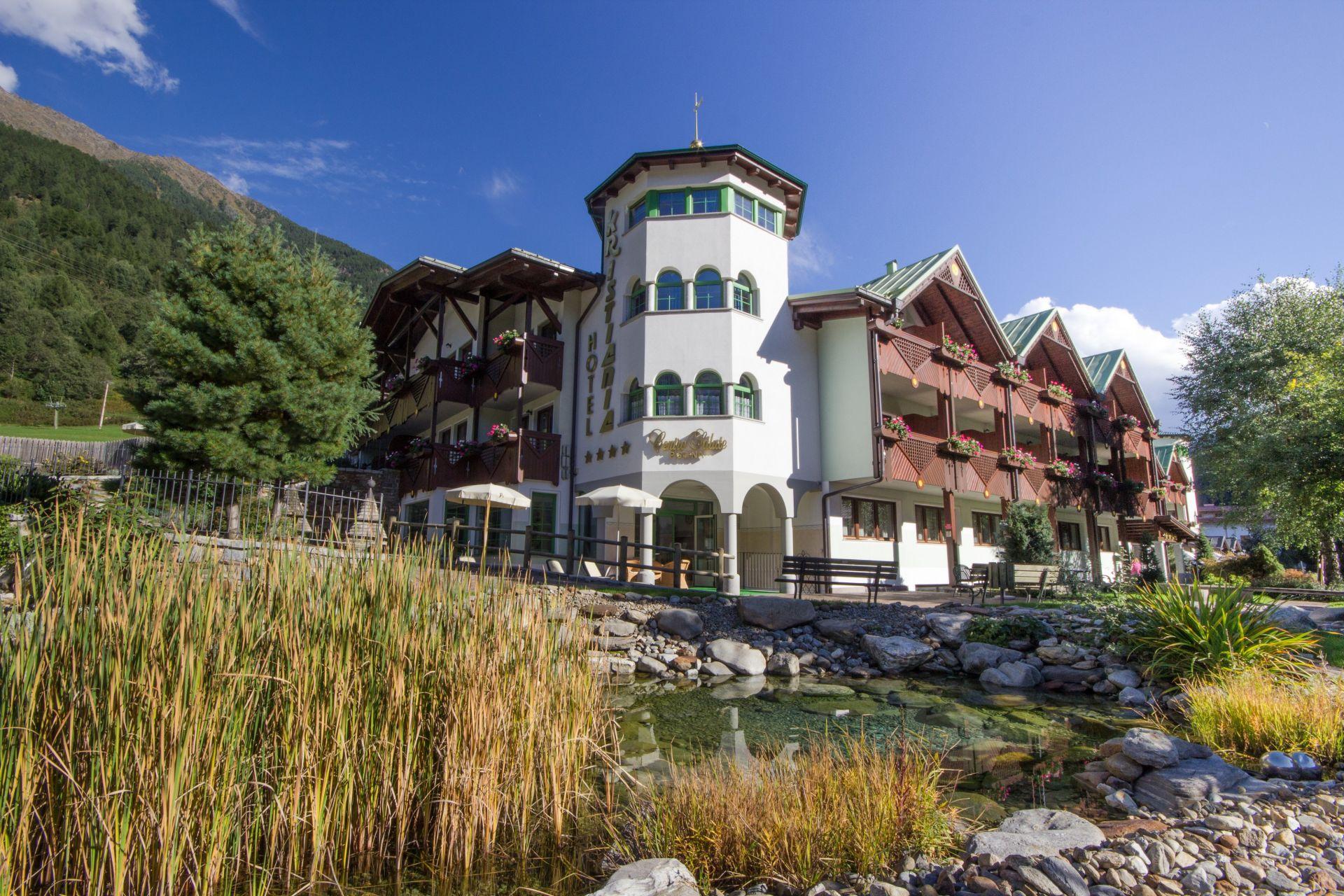 Immagine di testata per Hotel Kristiania con marchio Ecolabel in Trentino