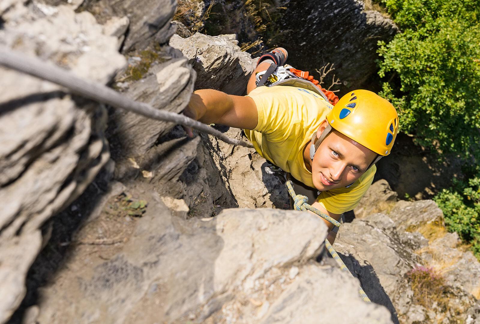 Immagine per Arrampicata libera in Val di Pejo