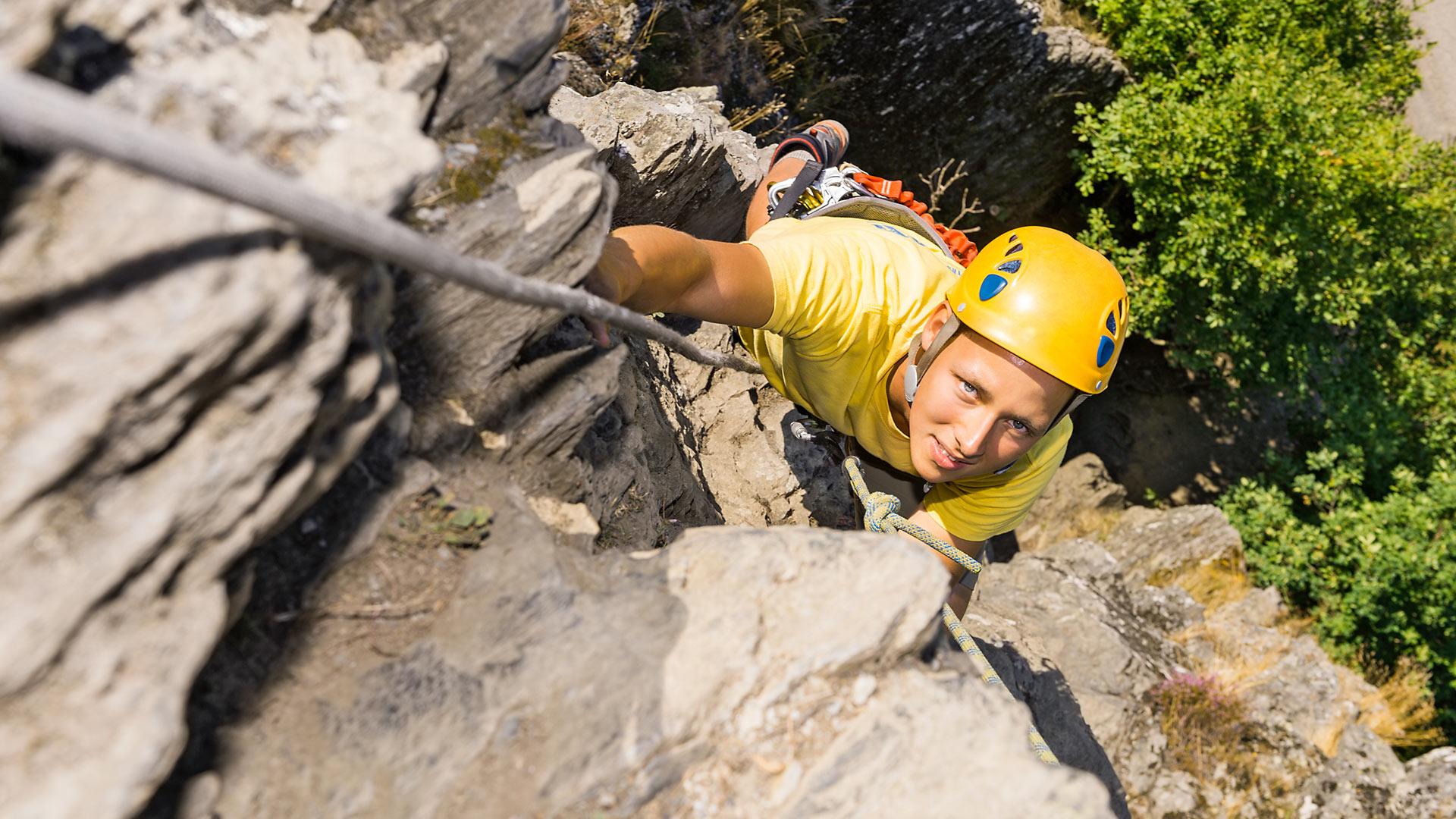 Immagine di testata per Arrampicata libera in Val di Pejo