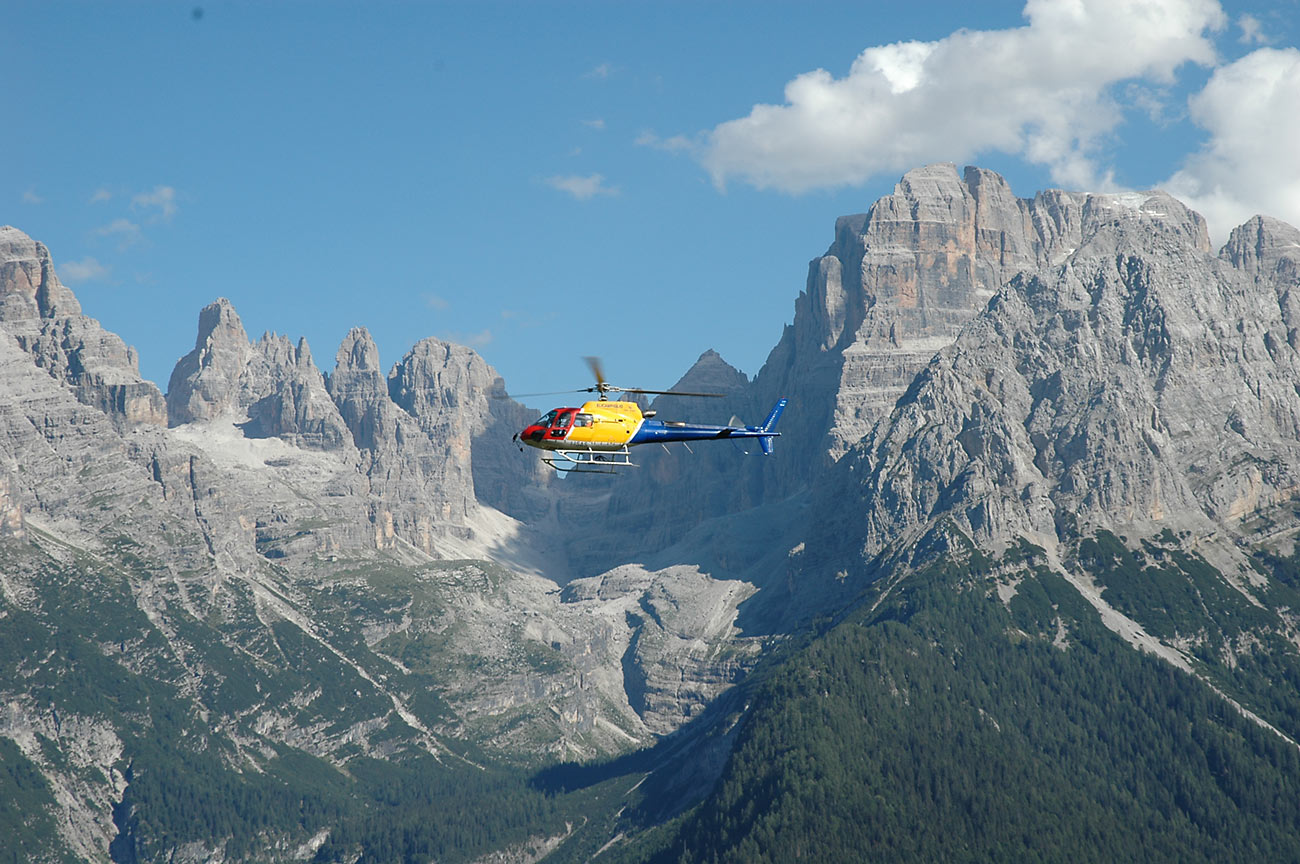 Image for In the helicopter over Val di Sole