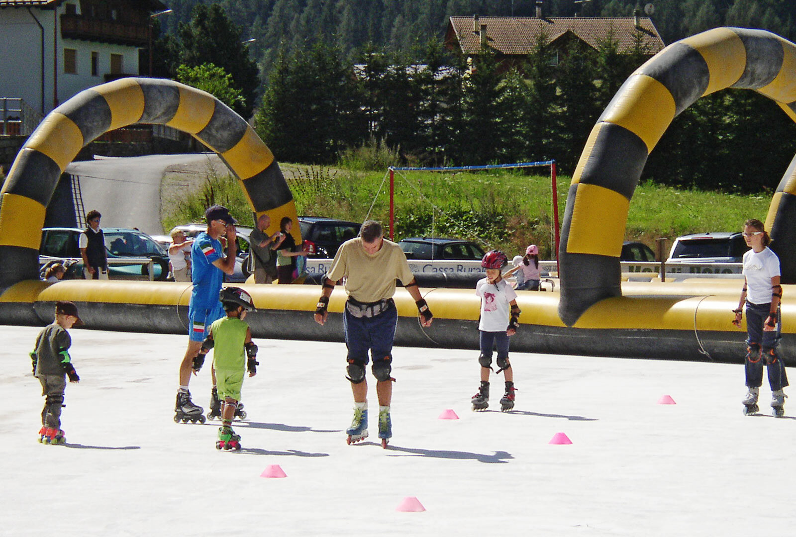 Image for The pleasure of skating in summer