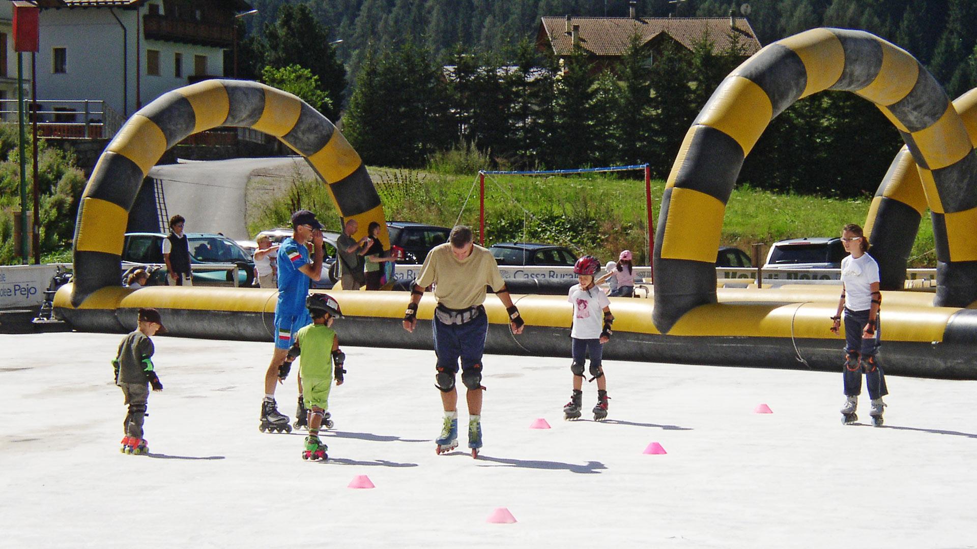 Immagine di testata per Il piacere di pattinare in estate