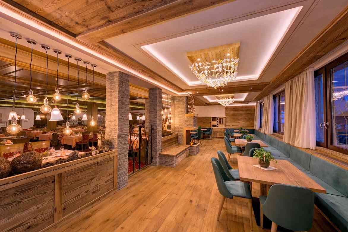 """Image for Leccornie in menu al ristorante """"Stube Alpina"""""""
